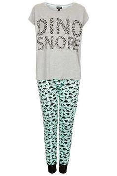 Dino Snore Pyjama Set - Sleepwear  - Clothing