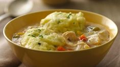 You CAN enjoy chicken and dumplings on a gluten-free diet thanks to Bisquick® Gluten Free mix.
