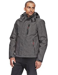 Fully Waterproof 3-in-1 Jacket with Detachable Hood & Thinsulate™ | M&S