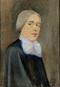 Beda Stjernschantz - Self-Portrait - 1892 - Finnish National Gallery A IV 2938.jpg