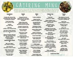 Catering Companies in Utah: Why choosing Rockwell Catering can make all the difference at your event! Food Truck Catering, Home Catering, Lunch Catering, Lunch Menu, Breakfast Catering, Catering Ideas, Food Trucks, Wedding Catering Prices, Utah