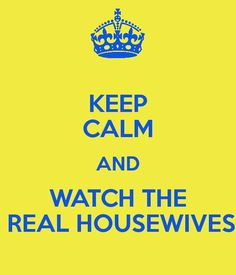 i love the real housewives