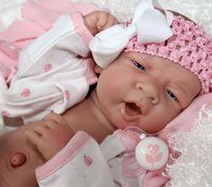 AWW! Sweet Baby Girl! Berenguer Life Like Newborn Reborn Pacifier Doll + Extras