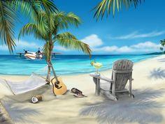 Gambar Pemandangan Pantai Wallpaper