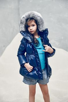 Olympia Down Coat in Midnight Blue – The Girls @ Los Altos