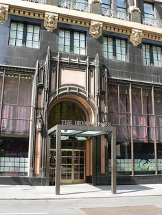 Bryant Park Hotel (Formerly American Radiator Building), New York.