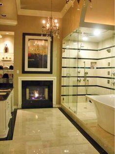 Master bathroom idea - Home and Garden Design Idea's