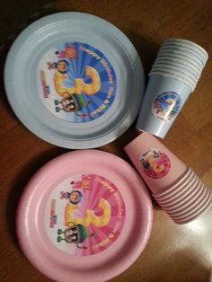 Team Umizoomi plates and cups for childrens birthday parties by PartiesPlus on Etsy https://www.etsy.com/listing/129176437/team-umizoomi-plates-and-cups-for