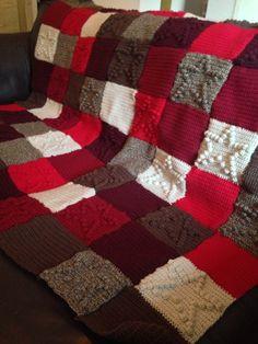 Bobble star blanket