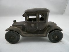 Vintage Cast Iron Ford Model T Doctor's Coupe by GsRetroRetreat