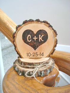 Hey, I found this really awesome Etsy listing at https://www.etsy.com/listing/194703773/rustic-wedding-cake-topper-wood-burned