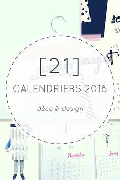 21 Jolis Calendriers Design & Déco Pour 2016