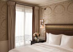 Отель La Resérve Paris Hotel&SPA, Париж, декоратор Жак Гарсия