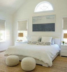 Coastal Bedroom Decor Ideas For Those Who Like It Clean And Serene.
