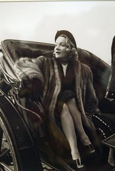 """""""If she did not have anything except the voice, it still would crash your heart""""  April 1, 1930 after the premiere of the film """"The Blue Angel"""" Rose star Marlene Dietrich. In the film she played a seductive canary and dancer Lola-Lola"""