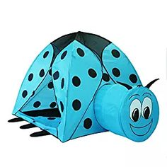 Alpika Ladybug Kids Play Tent and Ball Pit with Storage Bag (Blue)  sc 1 st  Pinterest : ladybug play tent - memphite.com