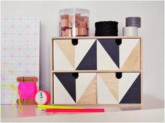 Transformar Ikea: Cajonera de madera MOPPE | Decoración