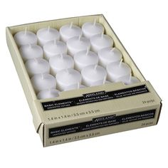 Ashland® Basic Elements™ Votives Value Pack, White