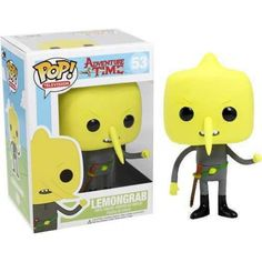 Funko Pop! Lemongrab, Adventure Time, Hora da Aventura, Cartoon, Funkomania