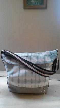 Tie dye canvas bag, love it!