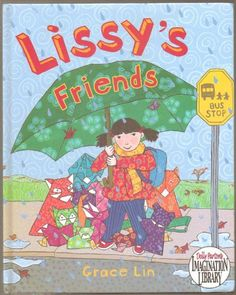 Lissy's Friends - Hardcover - Lissy Is the New Girl At School and Very Shy so She Makes Origami Friends to Keep Her Company (How to Fold a Paper Crane Instructions) - Hardcover - First Viking Edition 2008 ((About Bashfulness, Friendship, New School, How to Make Origami Folded Paper Crane)) >>> Want to know more, click on the image.