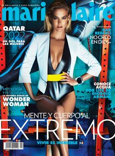 Bar Refaeli lands the Marie Claire Mexico april 2015 cover photographed by Hunter & Gatti