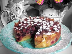 Fruit Clafoutis - When You Don't Have a Bowl of Cherries (pressure cooker recipe) -make with any in-season fruit!!