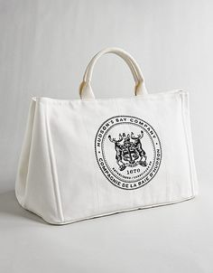 HUDSON'S BAY COMPANY COLLECTION Canvas City Tote