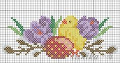 Gallery.ru / Фото #85 - схема на 1 лист - irinika Easy Cross Stitch Patterns, Cross Stitch For Kids, Simple Cross Stitch, Cross Stitch Baby, Cross Stitch Designs, Cross Stitch Embroidery, Christmas Embroidery Patterns, Hand Embroidery Designs, Stitch Toy