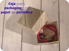 DIY: Caja para packaging de origami con videotutorial