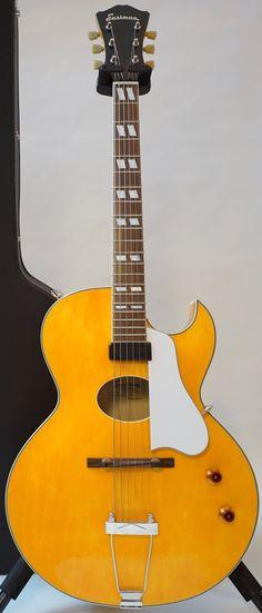 stringphonic:  Eastman AR-175 Oval 2014 108000 --- https://www.pinterest.com/lardyfatboy/