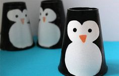 Great Penguin Craft Preschool Designs - Savvy Ways About Things Can Teach UsGranted, the majority of the crafts I found are fun and quick paper cup crafts that are suitable for younger children. Winter Crafts For Toddlers, Animal Crafts For Kids, Toddler Crafts, Preschool Crafts, Paper Cup Crafts, Fun Arts And Crafts, Paper Cups, Plastic Cup Crafts, Plastic Cups