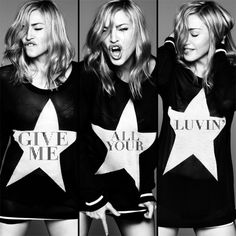 [ Madonna - Give Me All Your Luvin' ]