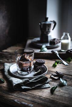 Cubetti di caffè ghiacciato alla vaniglia
