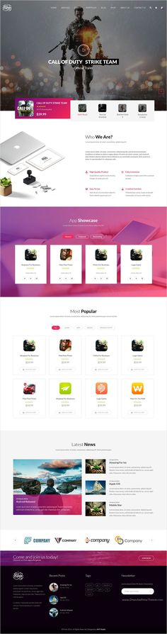Riven is modern and stylish responsive #Bootstrap HTML theme for multipurpose #gaming #landingpage website with 6+ stunning homepage layouts download now➩ https://themeforest.net/item/riven-html-template-for-for-app-game-single-product-landing-page/17338134?ref=Datasata