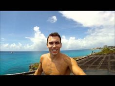 Michal Navratil - jumped from hotel roof in St. Maarten, via YouTube.
