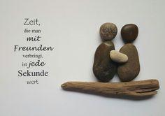 Weiteres - Bild aus Kieselsteinen *Freundschaft* - ein Designerstück von TAMIKRA-Art bei DaWanda