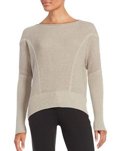 Ugg Sophia Drop Sleeved Knit Sweater Women's Grey Medium