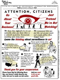 Daily Kos: 5 Tips for Living in a Surveillance State