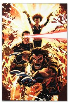 """Ultimatum- X-Men Requiem #1 Gallery Wrapped Limited Edition - 18"""" x 27""""  by Marvel Fine Art on @HauteLook"""