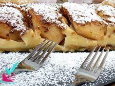 ΜΗΛΟΠΙΤΑ ΜΕ ΚΡΕΜΑ - Νόστιμες συνταγές της Γωγώς! Fall Recipes, Sweet Recipes, Lemon Grass, Apple Pie, Food Processor Recipes, Brunch, Tasty, Sweets, Cookies