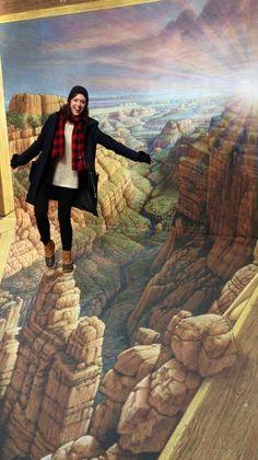 L.L.Bean Boots and 3D grand canyon exploring!