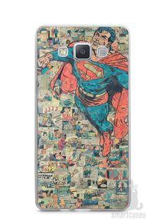 Capa Samsung A5 Super Homem Comic Books - SmartCases - Acessórios para celulares e tablets :)