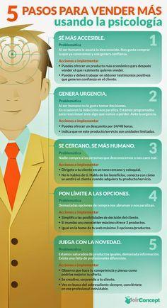 Miguel García González: 5 Pasos para #vender más usando la #Psicología