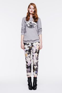 Need those pants. #fashion Markus Lupfer | Pre-Fall 2014 Collection | Style.com