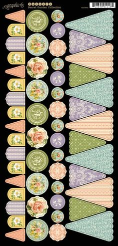 New Secret Garden Banners 1 from Graphic 45! #graphic45