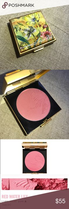 MAC Guo Pei Red Water Lily Limited Edition Blush No box, new. Limited edition, hard to find. Best price! No trades. MAC Cosmetics Makeup Blush