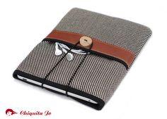 """Tasche für das iPAD """"Elegante"""" mit extra Fach! von Chiquita Jo ♥ Handgemacht und Individualisierbar! auf DaWanda.com"""