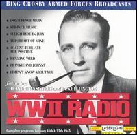 WWII Radio Broadcast January 25 1945 and January 18 1945 by Bing Crosby