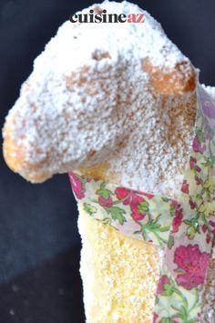 L'agneau Pascal de Pâques est un pâtisserie traditionnelle d'Alsace (Lammele) servie évidement à Pâques. #recette#cuisine#agneaudepaques#tradition #alsace #patisserie #paques #pâques Alsace, Vanilla Sugar, Recipes
